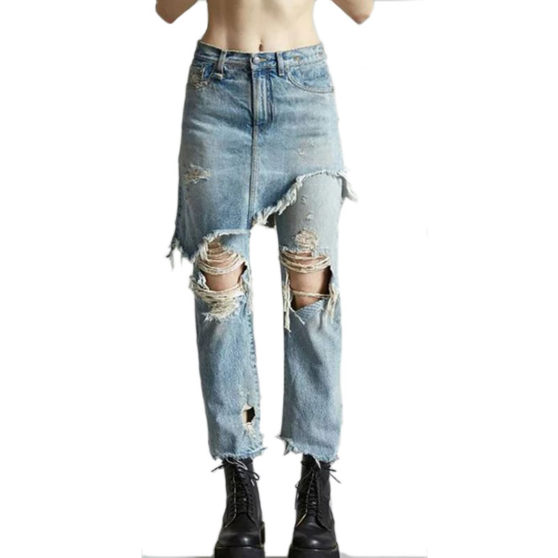 ripped capri jeans - Popular Ripped Capri Jeans-Buy Cheap Ripped Capri Jeans Lots From
