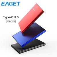 Eaget G70 2.5 Portable External Hard Drive 1TB HDD Type C 3.0 Externo Disco Storage Ultra thin 1TB Hard Disk for Laptop Desktop