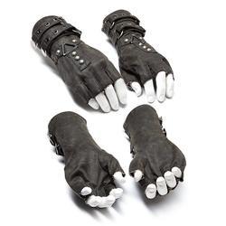 Панк рейв мужской ремень в стиле стимпанк пряжки заклепки перчатки S-252