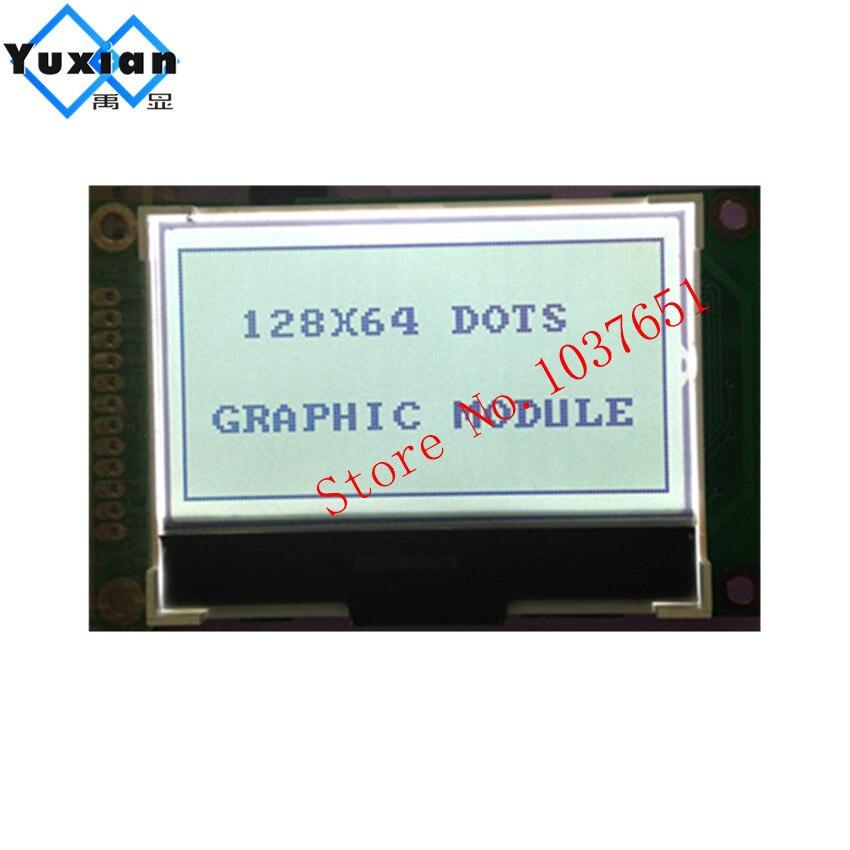 12864 5 V Cog Lcd Display Panel Mini Kleine Größe Fstn Grau Schwarz Buchstaben Serielle Spi St7565p Lg12864r Lcd Display Fabrik Videospiele Unterhaltungselektronik