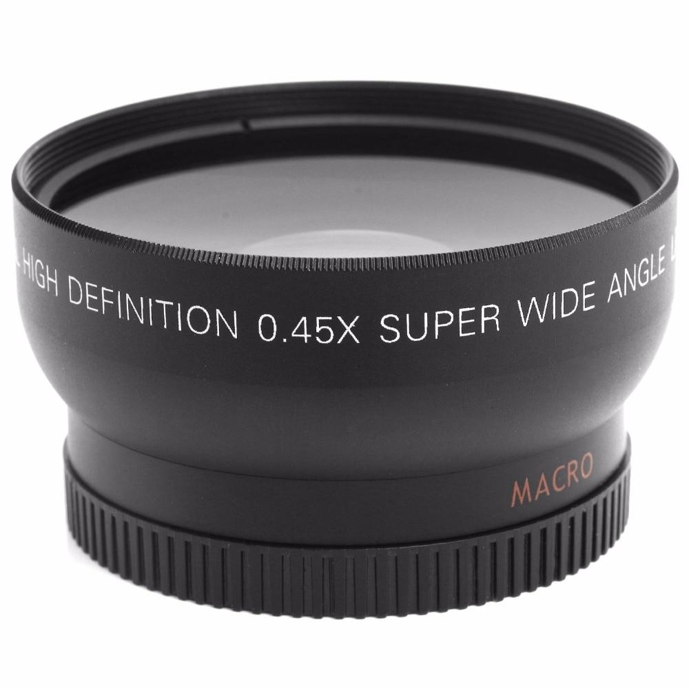 52MM 0.45x Nikon DSLR kameraları üçün Geniş Bucaqlı Lens + - Kamera və foto - Fotoqrafiya 3