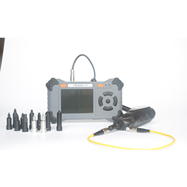 Fiber Optic Connector Inspection Video Inspection Probe and Display, Fiber Optic MicroScope 250 Magnification