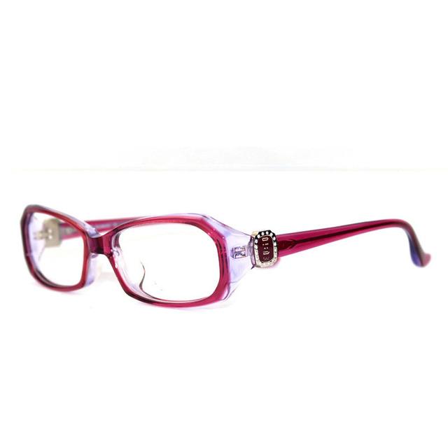 Acetato de Armação de Óculos Elegantes Para Mulheres Moda Óculos Full frame Quadro Óculos de Leitura Quadros Catawba Deep Purple