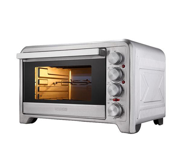 новое поступление 42л светло-серый мини нержавеющей стали электрический тепловая запеченные в духовке независимый контроль температуры двойной двери