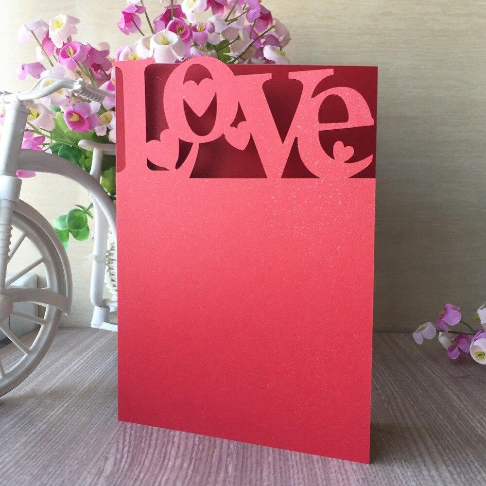 20 Stks/partij Parel Papier Uitnodigingskaart Verjaardagsfeestje Kaart Trouwkaarten Elegante Banket Levert Gift Goederen Van Hoge Kwaliteit