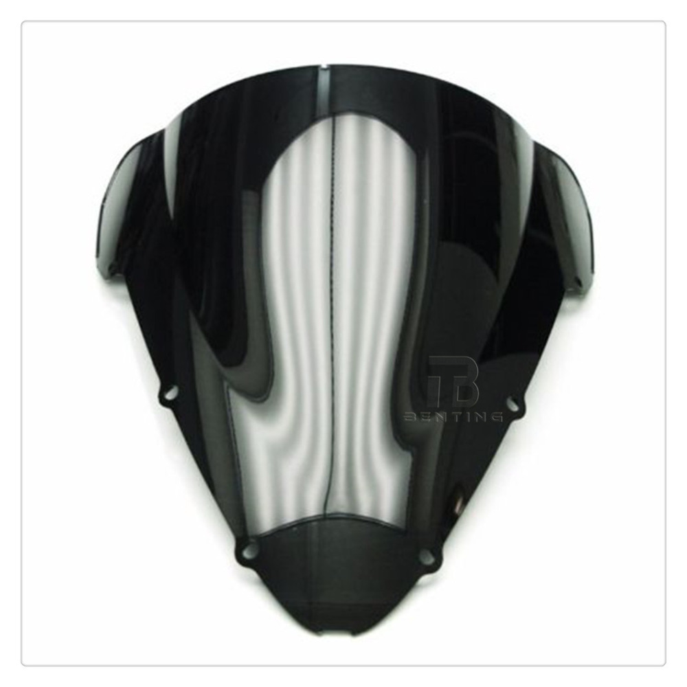 Black ABS Motorcycle Windshield Windscreen For Honda CBR600F CBR 600 F F4i 2001-2007 02 03 04 05 06