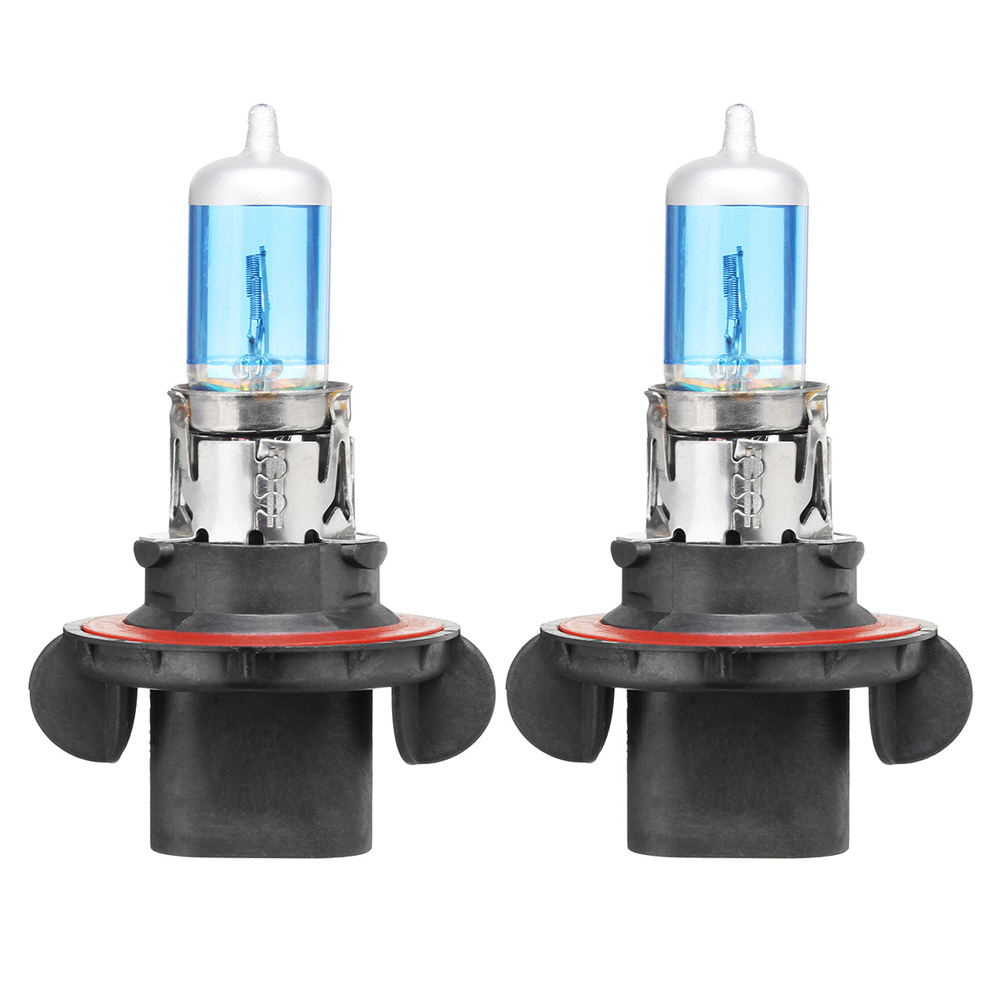 Do Promotion! 1 Pair H13 9008 100/90W 5900K Super White High Low Beam Headlight Light Bulbs