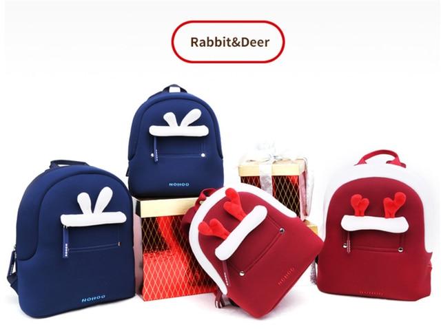 611dffb688 Christmas Children s school bag cartoon mini plush backpack for  kindergarten boys girls baby kids gift student