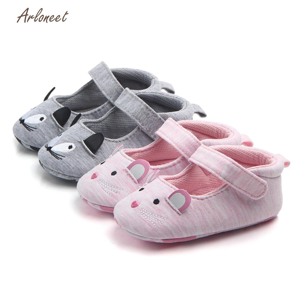 ARLONEET Babies Shoes Sneaker Anti-Slip Girls Boys Cartoon Fashion Soft DE29 Mouse Stitchwork