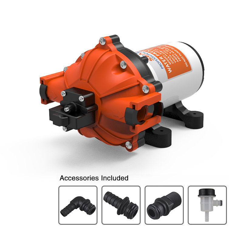 SEAFLO Marine Water Pump 12V 60 PSI 5.0 GPM Boat 4 Year Warranty Quick Connect