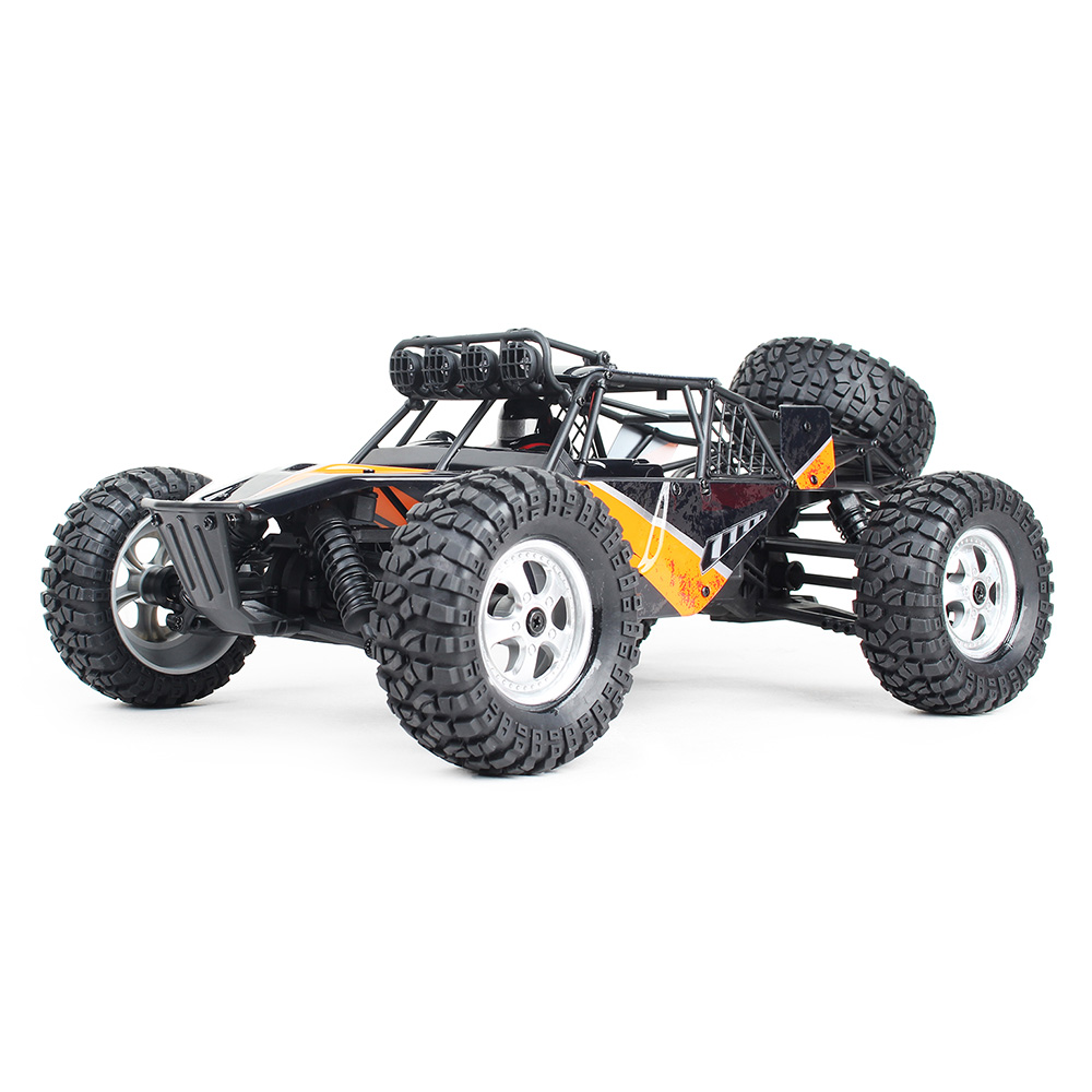 1/12 Scale 2.4G Remote Toy Cars 4WD 30km/H Brushed Full Vehicle RC Racing Car Off-Road Desert Truck With LED Light1/12 Scale 2.4G Remote Toy Cars 4WD 30km/H Brushed Full Vehicle RC Racing Car Off-Road Desert Truck With LED Light