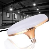 E27 4000lm 220V LED Bulbs Flying Saucer Shape Pull Down Ceiling Hang Light Lamp