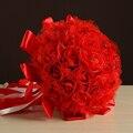 Свадебный Букет 2017 Ручной Работы Искусственные Цветы Украшения Цветы Свадебные Букеты