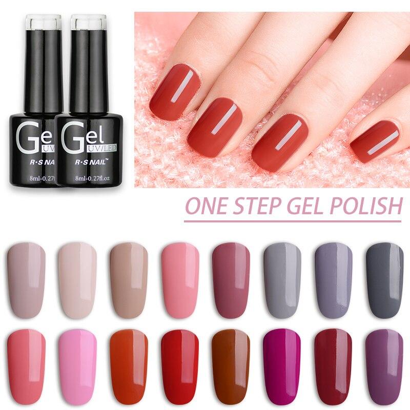 Rs Nail: Aliexpress.com : Buy RS Nail One Step Gel Nail Polish UV