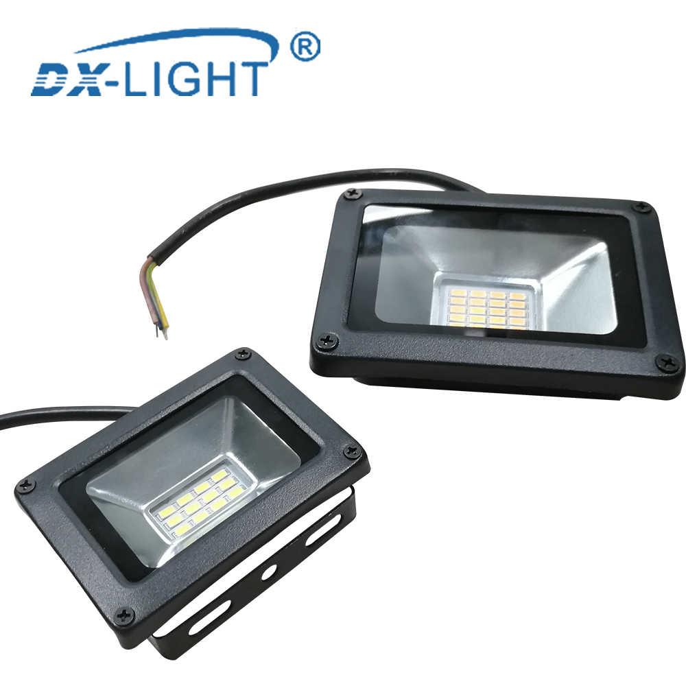 AC 220 V-240 V светодиодный инженерно свет 10 W 20 W 30 W 50 W 100 W IP65 Водонепроницаемый открытый настенный отражатель освещение сада квадратный прожектор