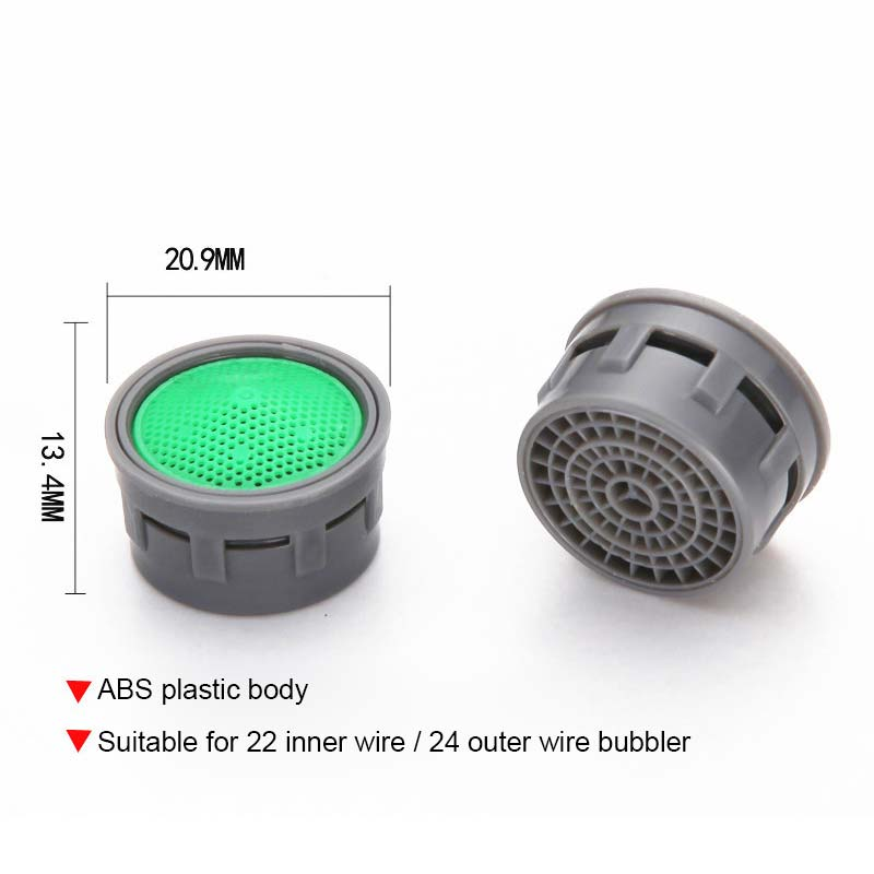 Water Saving Faucet Aerator 2L Minute 24 Male 22mm Female Thread Size Tap Device Bubbler 10pcs