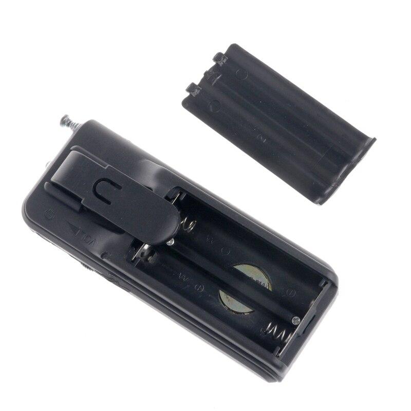 FleißIg 1 Set Mini Tragbare Auto Scan Fm Radio Empfänger Clip Mit Taschenlampe Stereo Kopfhörer Dk-8809