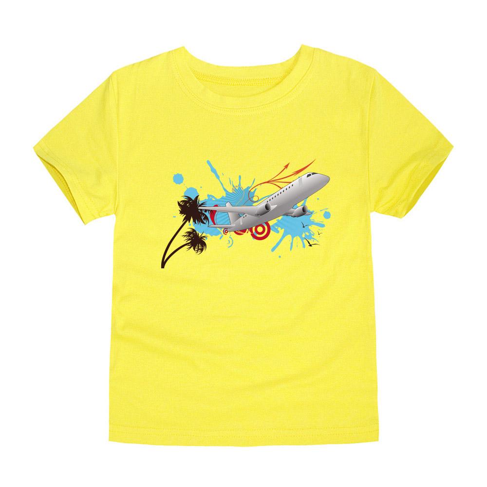 HTB1WMp8QVXXXXX9XFXXq6xXFXXXG - CHUNJIAN 2017 children t shirts for girls boys cotton t shirt girls T-Shirt kids t shirts summer Tops & Tees kids plane shirt