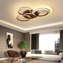 New Creative rings modern LED ceiling lights lamps for living room bedroom plafonnier led ceiling lamp fixtures lighting ceiling