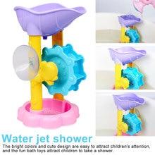 Cute Baby Bath Toys Shower Kids Waterwheel Suit Bathtub Foam Beach Swimming Pool