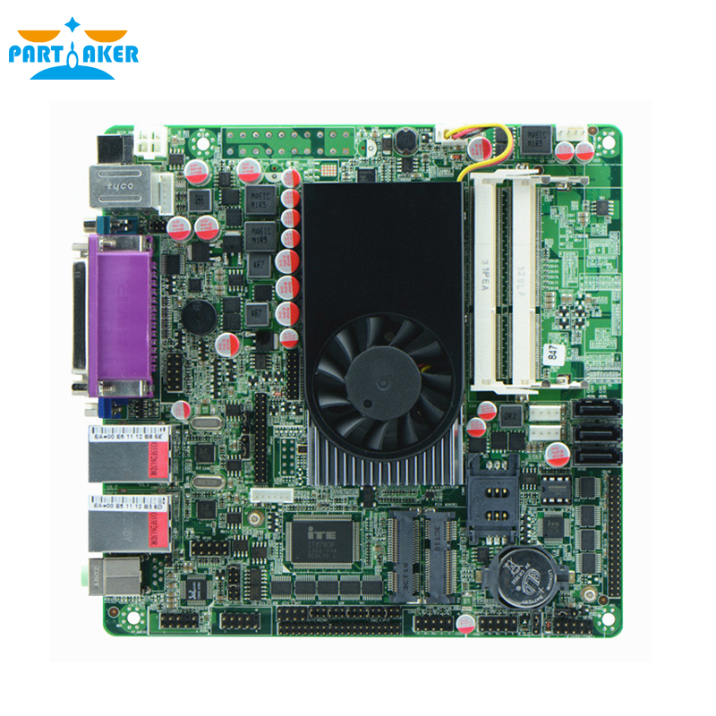ITX-M847_Z10 Intel 1037u Intel NM70 Chipset VGA LPT PS/2 Ports Dual LAN Mini ITAX Motherboard