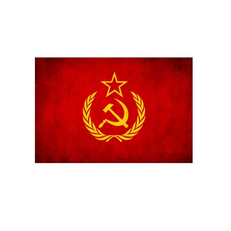 90x150cm  Communist Flag For Decoration
