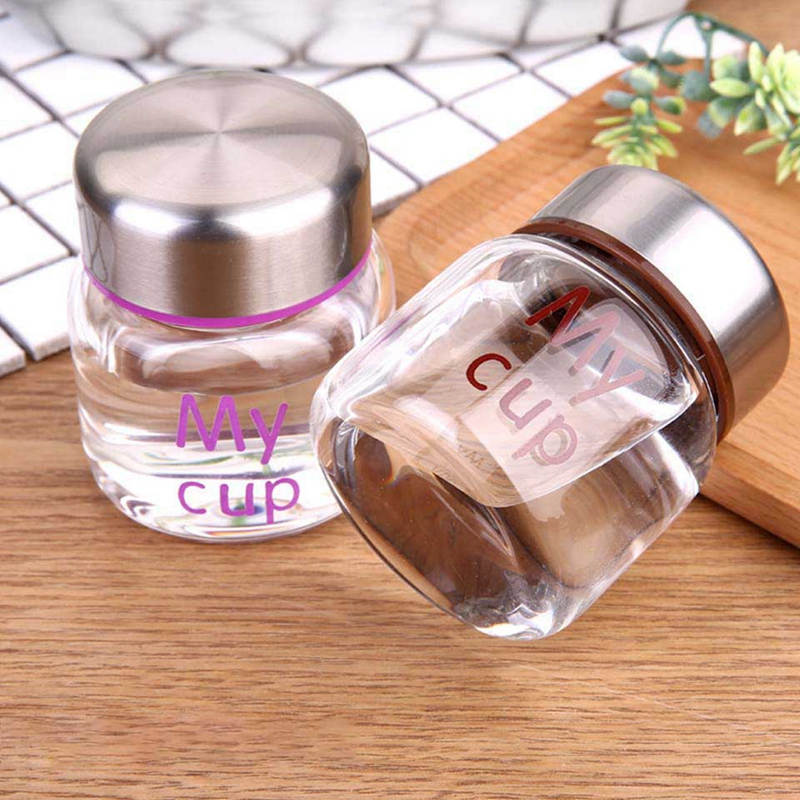 150ml Glass Mason Jar Mug with Lid and Straw Summer Ice Cream Fruit Cold Drinking Water Jars Juice Cup Office Drinking in Water Pots Kettles from Home Garden