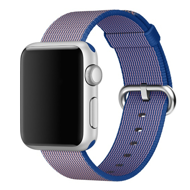 CRESTED Watch strap For Apple Watch band strap 42 mm/38 sport Woven Nylon Fabric watchband wrist bracelet for iwatch 2/1/Edition crested protective case with strap for apple watch band 42 mm 38 mm wrist bracelet rubber watchband cover for iwatch series 2 1