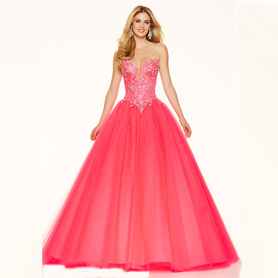 High Quality Wholesale long puffy prom dresses from China long ...