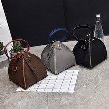PACGOTH новая трендовая Мода из искусственной кожи Скраб Твердый треугольник Zongzi напульсники мини-сумка-клатч на плечо и сумки через плечо 1 штука