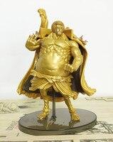 Een Stuk Nieuwe Wereld SPECIALE Strijdende Staten Boeddha Assembleren Top battle Gold Megahouse MH Luffy 17 CM Limiet Garage