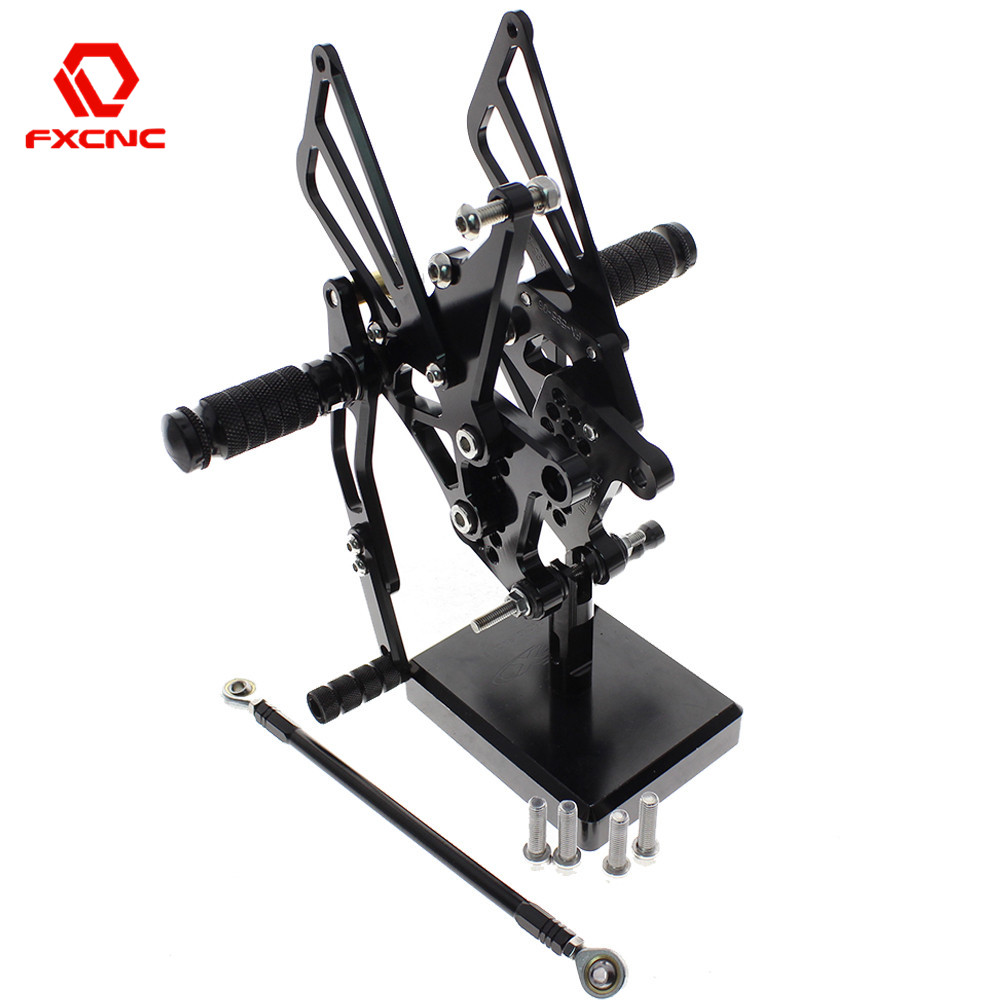 FOR TRIUMPH Speed Triple 509 595 955 1050  Aluminum Adjustable Motorcycle Rearsets Rear Sets Foot Pegs Pedal FootrestFOR TRIUMPH Speed Triple 509 595 955 1050  Aluminum Adjustable Motorcycle Rearsets Rear Sets Foot Pegs Pedal Footrest