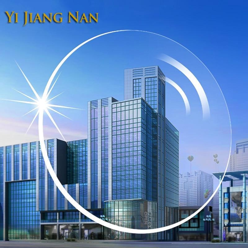 Marca Yi Jiang Nan 1.56 Índice Anti UV Reflexión Miopía y Lectura - Accesorios para la ropa