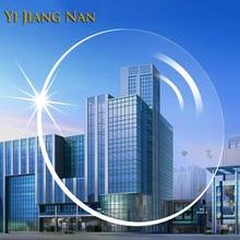 Yi Jiang Nan ბრენდი 1.56 ინდექსი UV საწინააღმდეგო ანტირეფლექსია მიოპია და წაკითხვის ობიექტივი ლინზები გამჭვირვალე ოპტიკური რეცეპტის ლინზები
