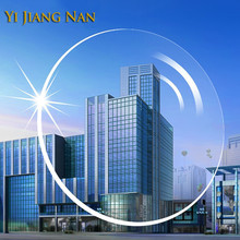 Yi Jiang Nan Marke 1,56 Index Anti UV Anti Reflexion Myopie und Lesen Rezept Objektiv Transparente Optische Rezept Linsen