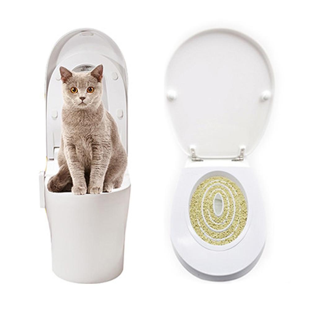 Pugga Plastic Cat Toilet Training Kit Pet Kitty Potty