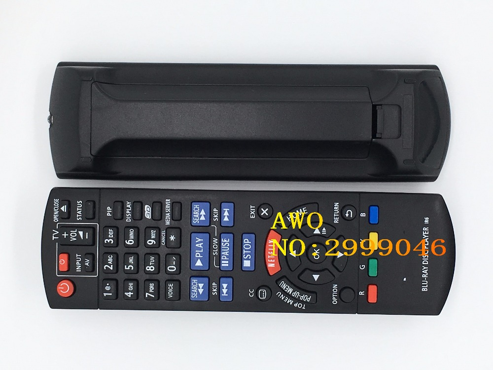 REPLACEMENT NEW  remote control fit  For Panasonic BLU-RAY DISC PLAYER IR6 DVD REMOTE oppo udp 203 4k uhd hdr 3d hd ultra blu ray disc player usb3 0 dvd player china version 110v 220v