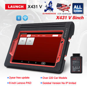 Launch X-431 8 inch Wifi/Bluetooth Diagnosis tool free System X431 V