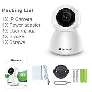 Image 5 - 3MP フル hd ホームセキュリティ無線 Lan カメラ H.265 双方向オーディオ CCTV カメラベビーミニター屋内電話リモートコントロール IP カメラ