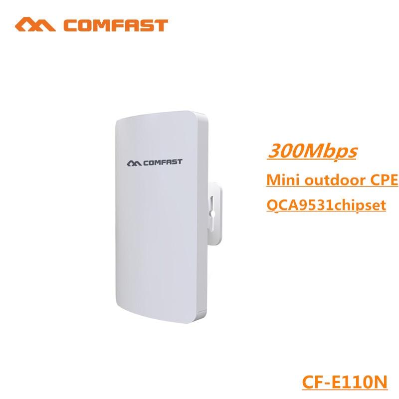 Comfast CF-E110N mini outdoor wireless cpe built in 11dbi Antena wi-fi QCA9531 chip wifi router &wifi extender& network bridge 3g антена antena 11