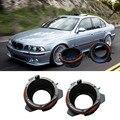 2 unids Nuevo H7/HID XENON Bulb Adaptadores Titular de la Alta Calidad Adaptador de Conversión Del Bulbo H7 HID para BMW E39 Serie 5 97-03