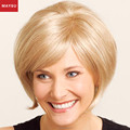 New Arrival Short Human Hair Wigs For Women Fusion Hair Extension Side Parting Best Brazilian Virgin Hair Capless Free shipping