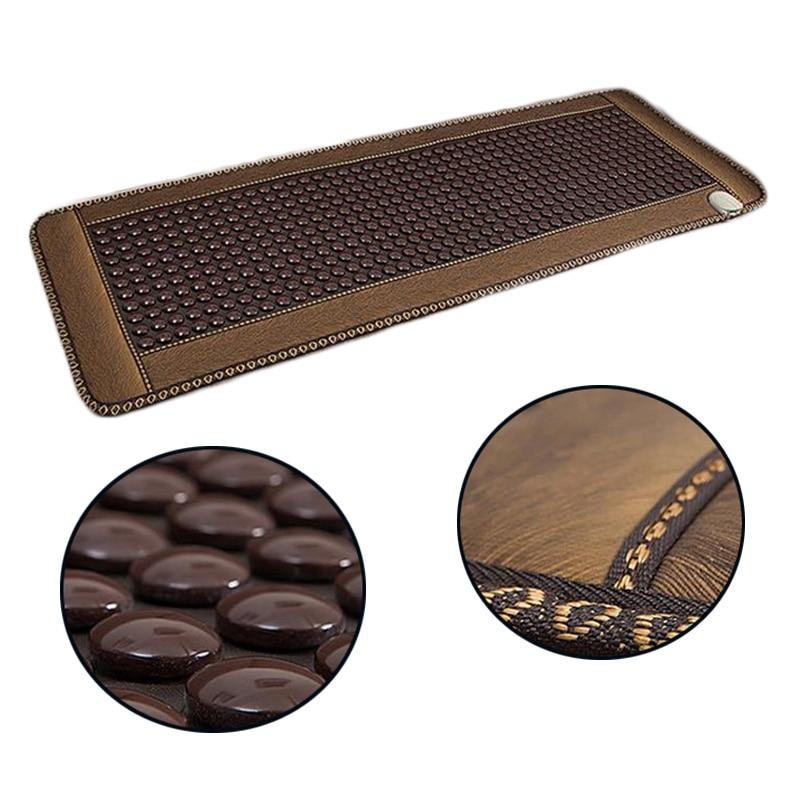 Нефритовая диванная подушка анион германиевый камень ворс кофе Отопление увлажняющий диван подушка для здоровья - 2