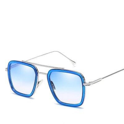 COOLSIR Fashion Men Sunglasses Classic Men Brand Designer Metal Square Sun glasses UV400 Protection in Men 39 s Sunglasses from Apparel Accessories