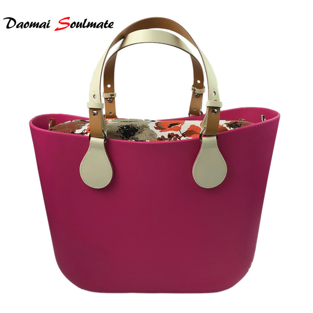 O Bag Obag Style Rose Waterproof Eva Body Women Handbag Silicon