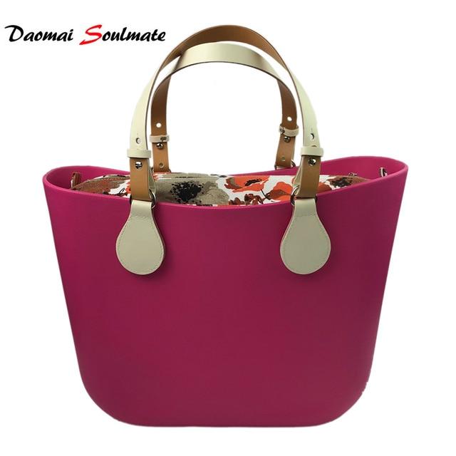 872fd6b69 O bag obag style Rose waterproof EVA body women handbag Silicon beach  handbag women Bag
