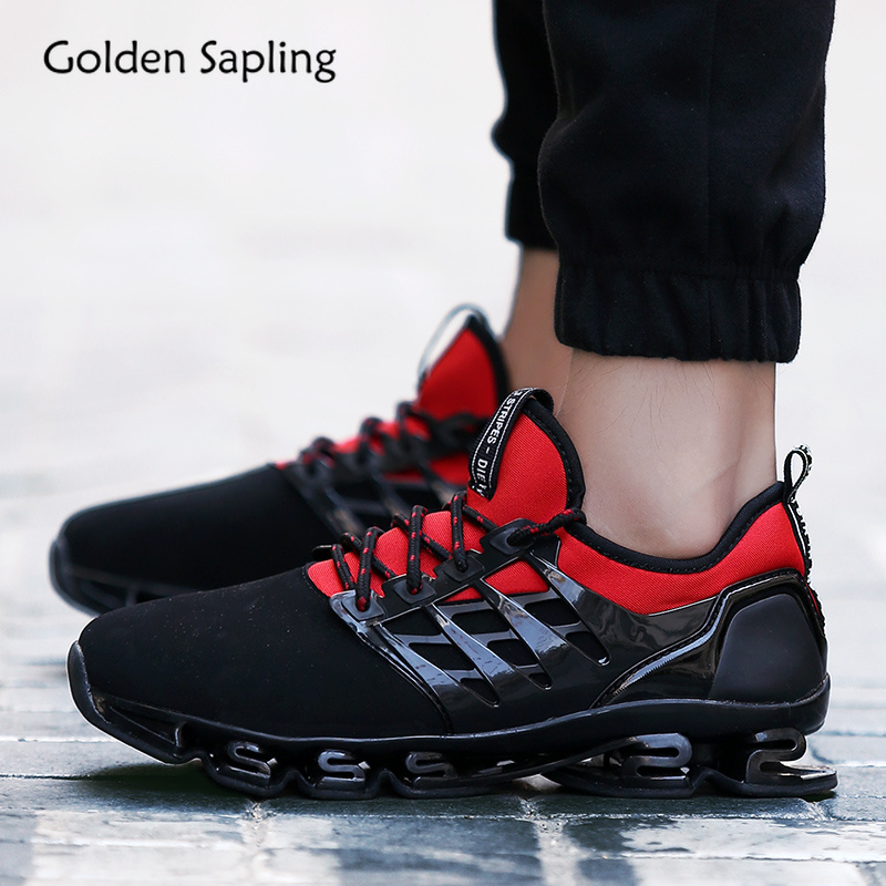 Golden Sapling Good Quality Sneakers for Women Breathable Fabric Cushioning Soft Running Shoes Woman Fitness GYM