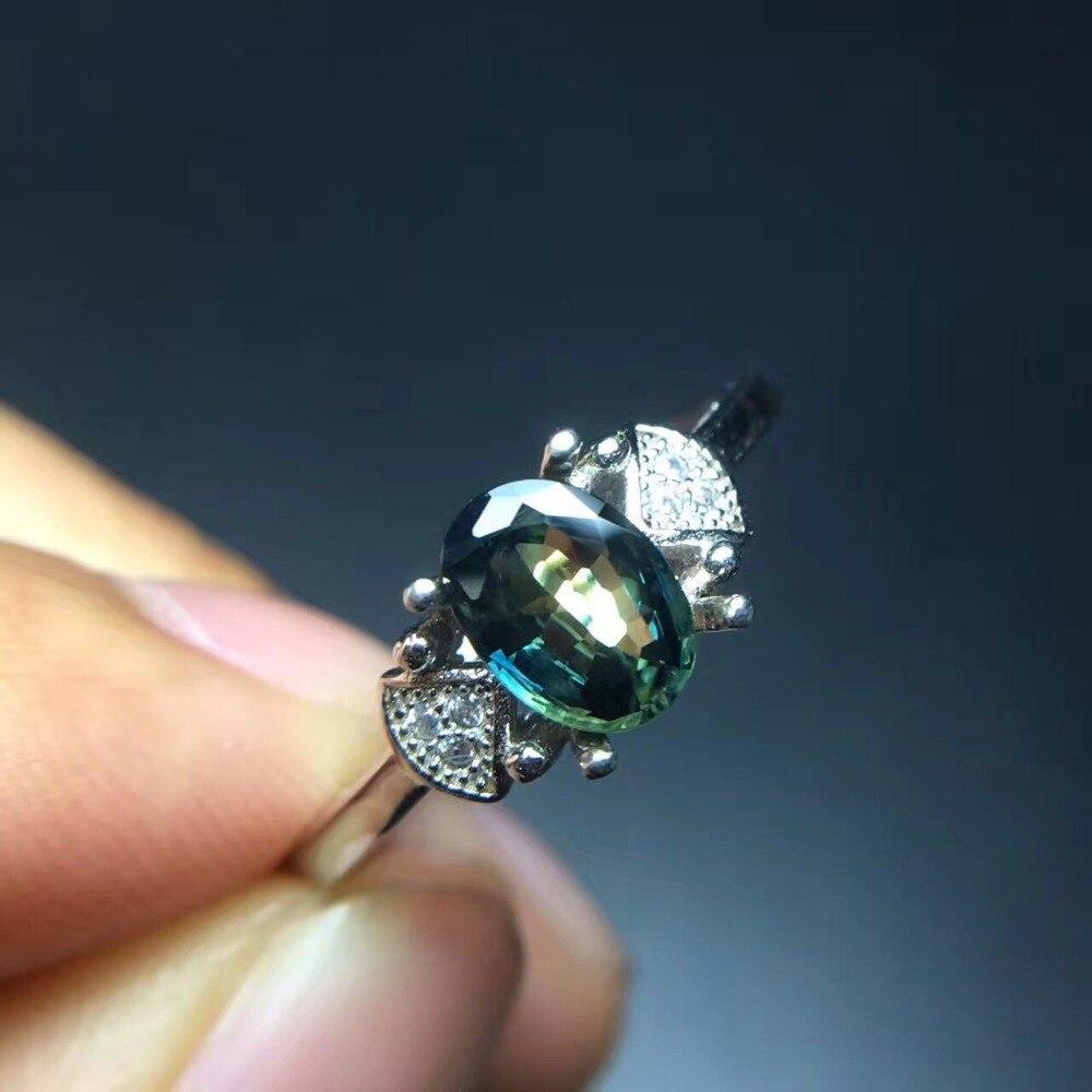 Ring Natural Sapphire Gemstone Real Precious Stone Woman Fine JewelryRing Natural Sapphire Gemstone Real Precious Stone Woman Fine Jewelry