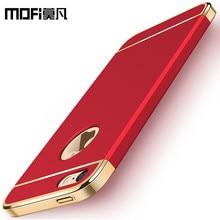 MOFI оригинальный 5S SE Дело 64 ГБ для iPhone 5 SE Футляр 32 ГБ крышка Полный для iPhone 5 fundas красный Coque для iphone 5S случае 16 ГБ