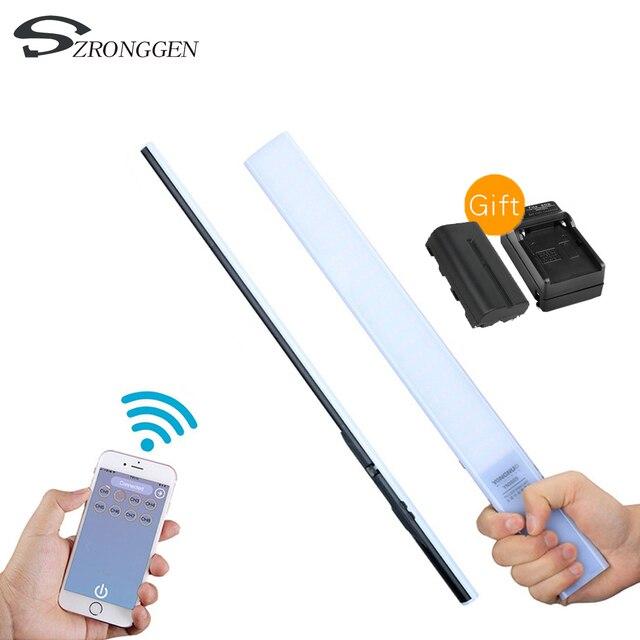 YONGNUO YN360S 5500K Ручная Светодиодная лампа Ice Stick для макияжа и фото и видеосъемки с зарядным устройством и управлением через приложение для телефона